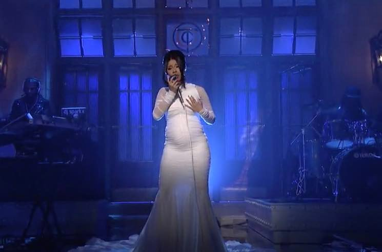 ​Cardi B Confirms Pregnancy During 'Saturday Night Live' Performance
