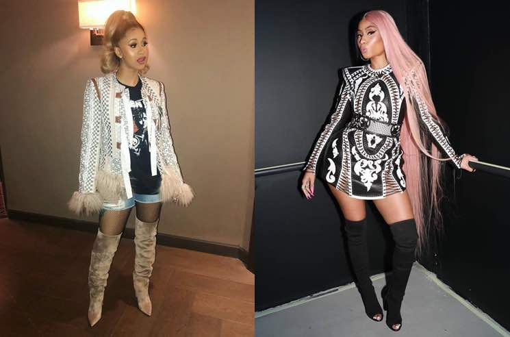 Calm Down, Nicki Minaj and Cardi B Are Not Beefing