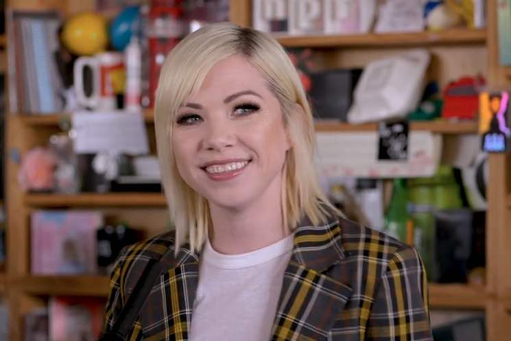 "​Carly Rae Jepsen Did an NPR ""Tiny Desk Concert"""