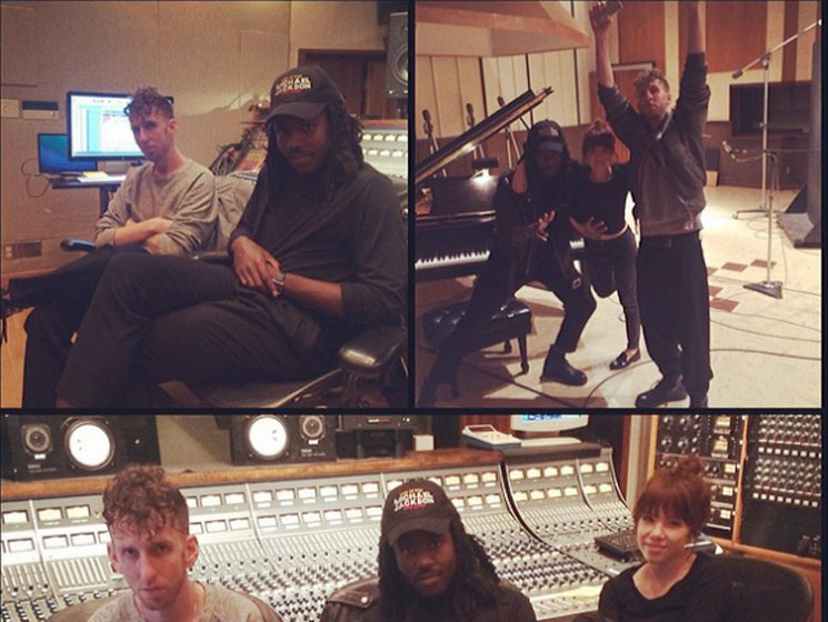 Carly Rae Jepsen Recording with Dev Hynes and Ariel Rechtshaid
