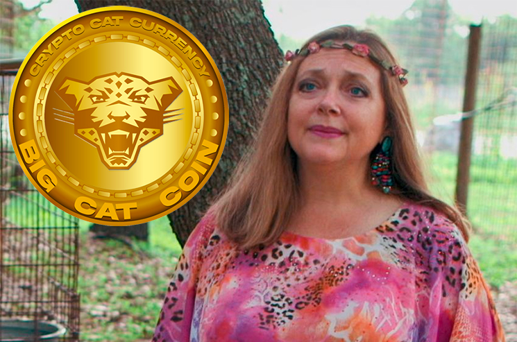 'Tiger King' Cat Lady Carole Baskin Has Launched Her Own Cryptocurrency