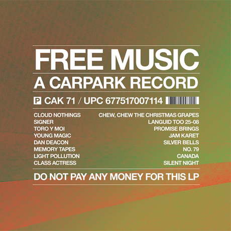 Dan Deacon, Memory Tapes, Toro Y Moi Get Christmasy for Free Carpark Comp