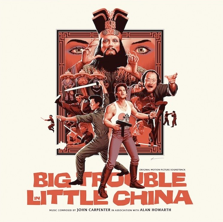 John Carpenter's 'Big Trouble in Little China' Gets Expanded Vinyl Reissue