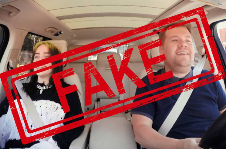 "Celebrity Scandal Alert: James Corden Doesn't Actually Drive During ""Carpool Karaoke"""