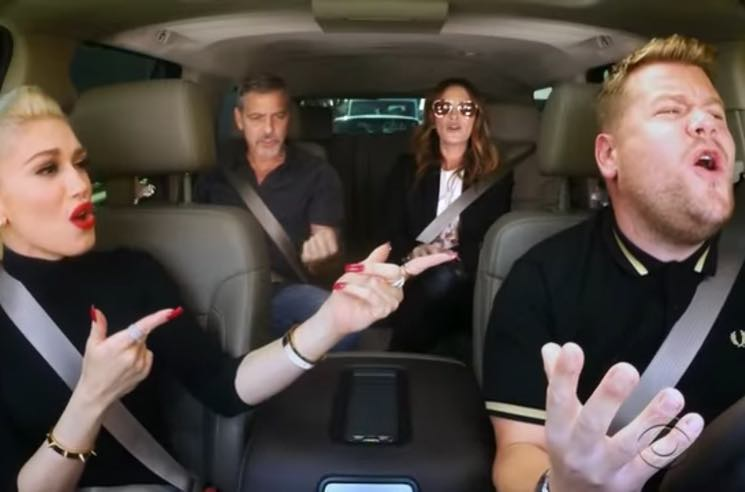 "​Gwen Stefani Busts Out No Doubt and Queen Classics for ""Carpool Karaoke"""