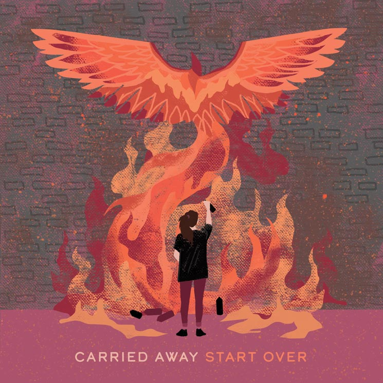 ​Stream Carried Away's New EP 'Start Over'