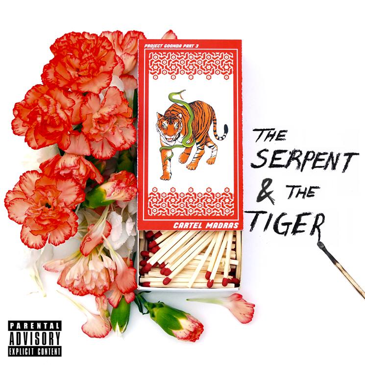Cartel Madras Get Backxwash, Dom Dias for 'The Serpent & the Tiger'