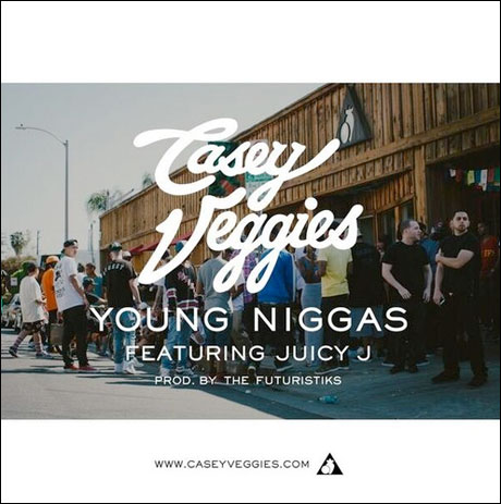 "Casey Veggies ""Young Niggas"" (ft. Juicy J)"