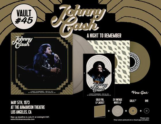 Third Man Records Brings Unreleased Johnny Cash Concert to Vinyl