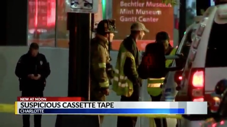 A Journey Cassette Just Caused a Bomb Squad to Evacuate a Building