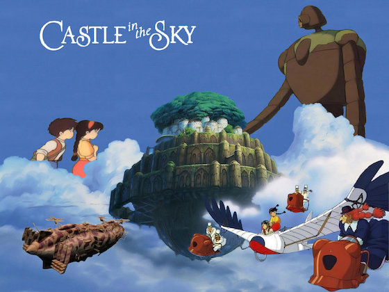 Disney Artist Designs 'Castle in the Sky' Theme Park
