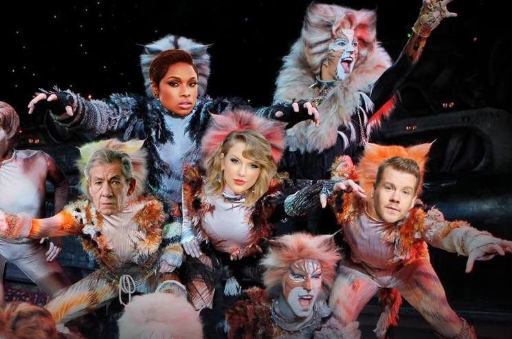 Taylor Swift, James Corden, Jennifer Hudson, Ian McKellen Cast in 'Cats' Movie