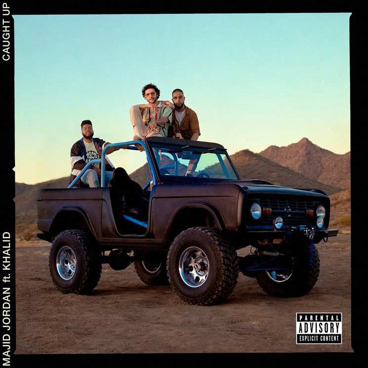 "Majid Jordan and Khalid Connect for ""Caught Up"""