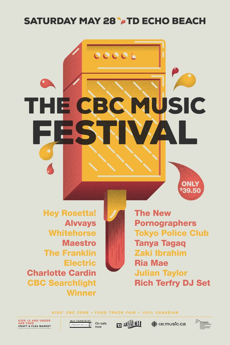 CBC Music Festival Expands 2016 Lineup with New Pornographers, Tokyo Police Club, Alvvays