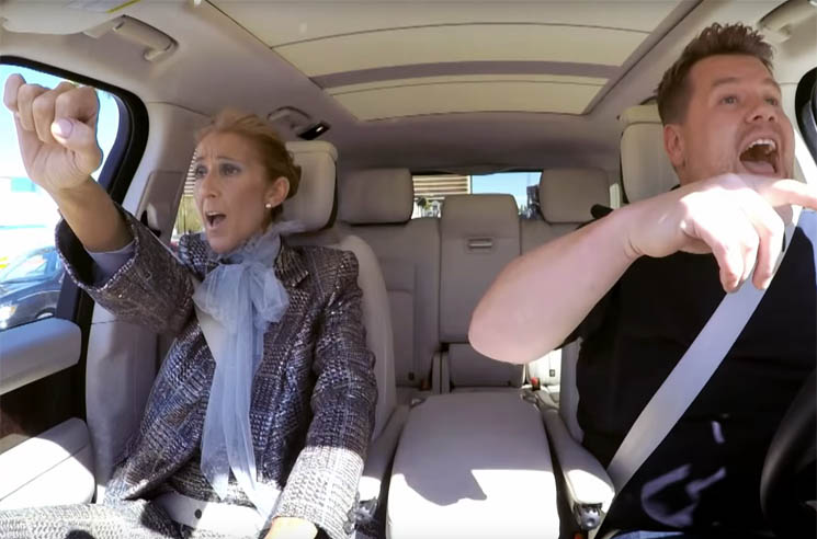 "​Céline Dion Just Gave the Greatest ""Carpool Karaoke"" Performance of All Time"
