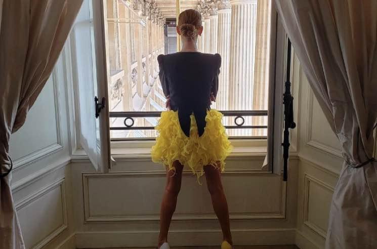 Céline Dion Is Living Her Best Haute Couture Life at Paris Fashion Week