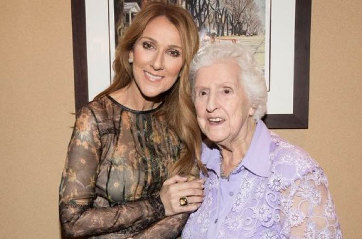 ​Céline Dion's Mother, Thérèse Tanguay-Dion (a.k.a. 'Maman Dion'), Dies at 92