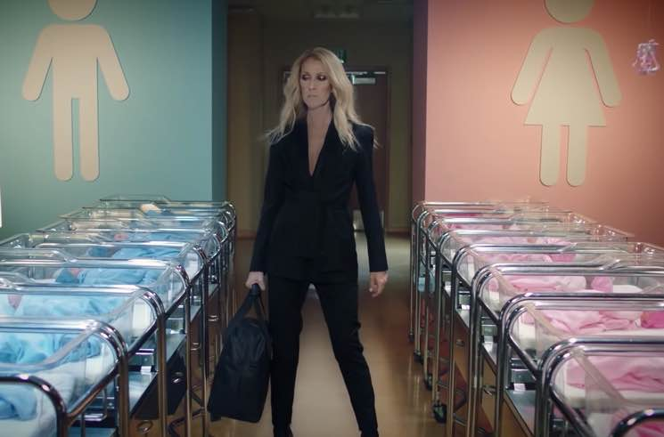 ​Céline Dion Gets Taken Down by Hospital Security in Ad for Her Gender-Neutral Kids' Clothing Line
