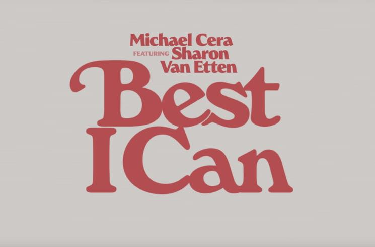 "Michael Cera and Sharon Van Etten Team Up for ""Best I Can"""