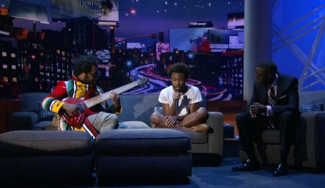 "Childish Gambino ""Shadows"" (live on 'Arsenio')"