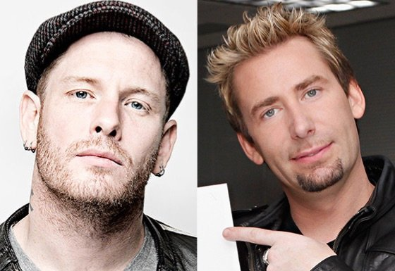 ​Slipknot's Corey Taylor Responds to Nickelback's Chad Kroeger: 'He's Got a Face Like a Foot'