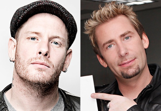 Nickelback's Chad Kroeger Trash Talks Slipknot's Corey Taylor