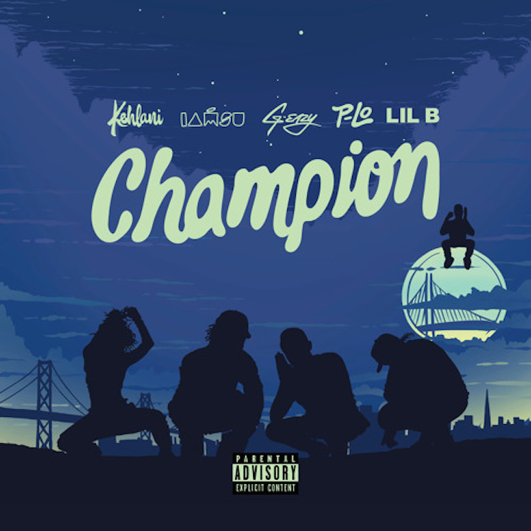 Kehlani 'Champion' (ft. G-Eazy, IAMSU! and Lil B)