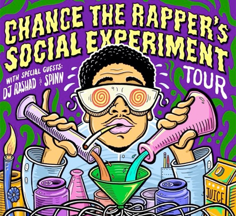 "Chance the Rapper Brings ""Social Experiment Tour"" Across North America This Fall, Plays Montreal and Toronto"