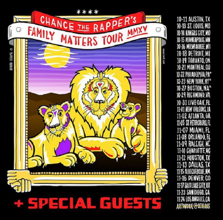 Chance the Rapper Announces 'Family Matters' Tour