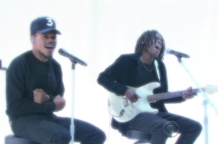​Chance the Rapper and Daniel Caesar Debut New Song on 'Colbert'