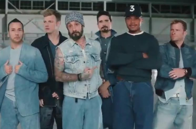 ​Chance the Rapper Becomes the Sixth Backstreet Boy in Doritos Super Bowl Ad
