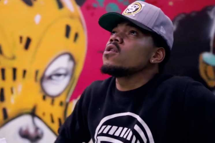 "Chance the Rapper Pals Around with Lil Wayne, 2 Chainz, DJ Khaled for ""No Problem"" Video"