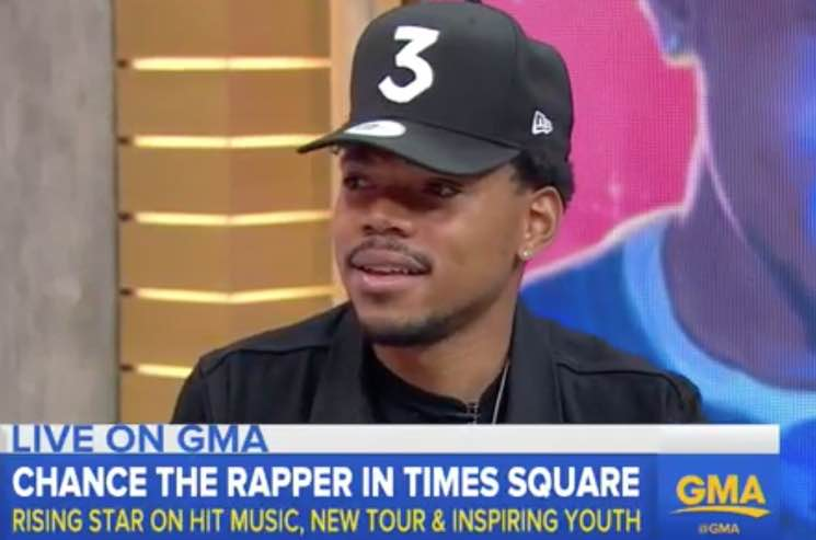 ​Watch Chance the Rapper on 'Good Morning America'