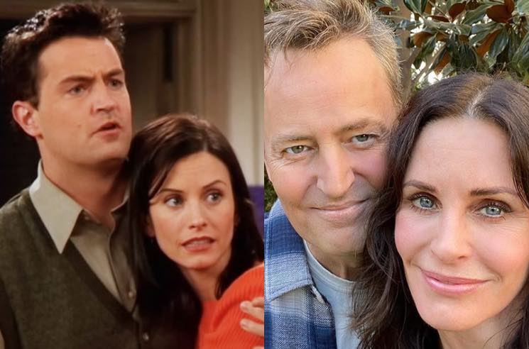 ​Monica and Chandler from 'Friends' Reunited for an Instagram Selfie