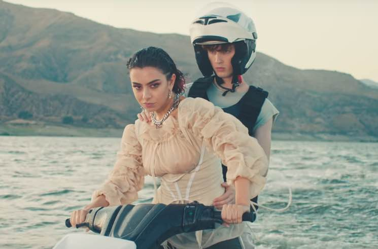 "Charli XCX and Troye Sivan Declare Jet Skis Are the Future in ""2099"" Video"