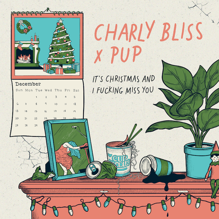 Charly Bliss and PUP Team Up for New Holiday Single