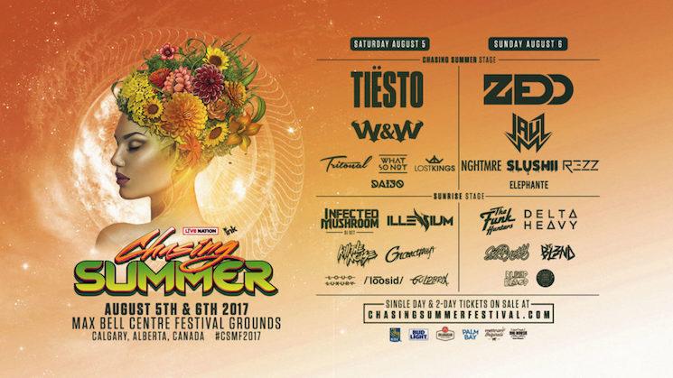 Calgary EDM Festival Chasing Summer Criticized for Banning Naloxone Kits
