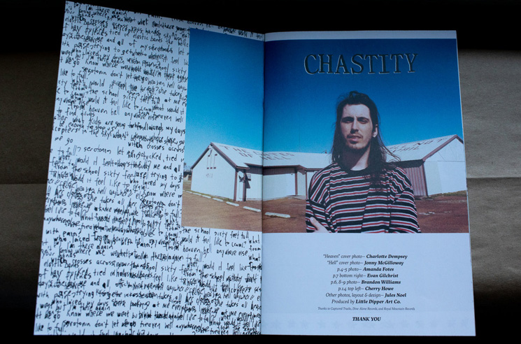 Chastity Readies New 'Heaven' Photo Zine with PUP's Little Dipper
