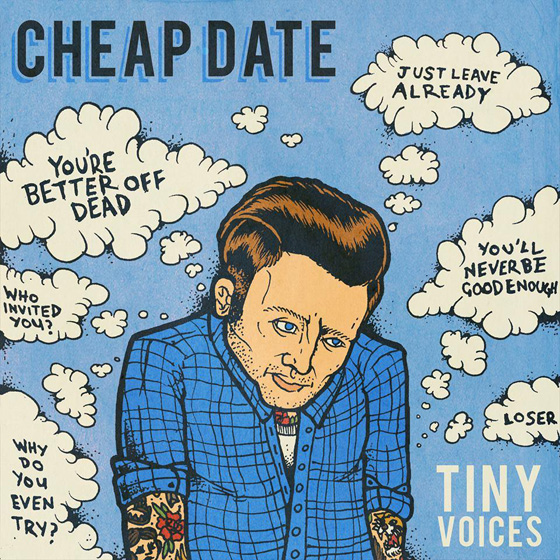 Cheap Date 'Tiny Voices' (EP stream)