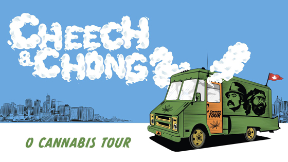 "Cheech and Chong Map Out ""O Cannabis Tour"""