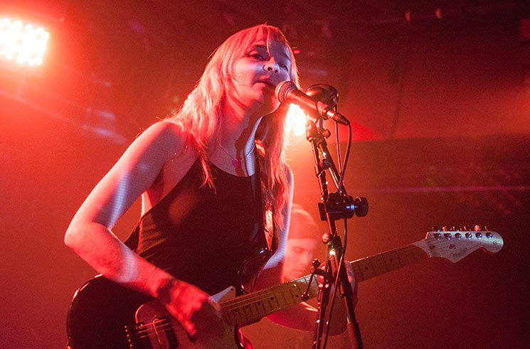 Cherry Glazerr / Palehound Velvet Underground, Toronto ON, February 20