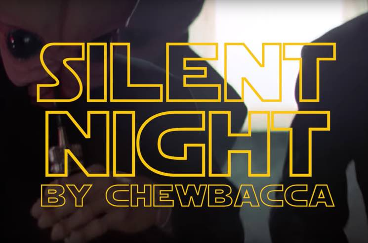 "​This Is What Chewbacca Singing ""Silent Night"" Sounds Like"