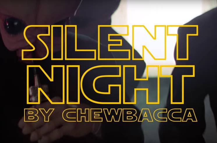 """This Is What Chewbacca Singing """"Silent Night"""" Sounds Like"""