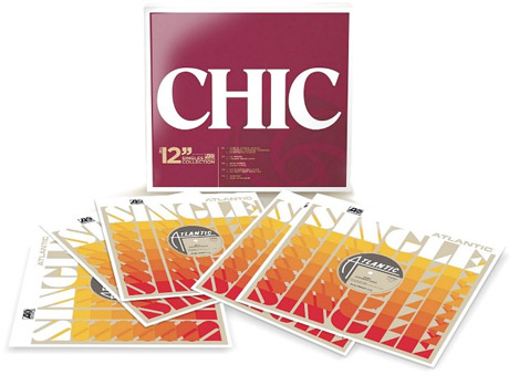 Chic Celebrated with 12-Inch Singles Box