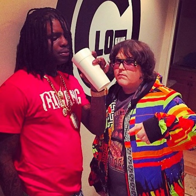"Chief Keef & Andy Milonakis ""Runnin"""