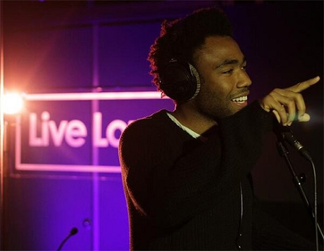 """Childish Gambino """"3005"""" / """"I'd Die Without You"""" (P.M. Dawn cover) (live on BBC)"""