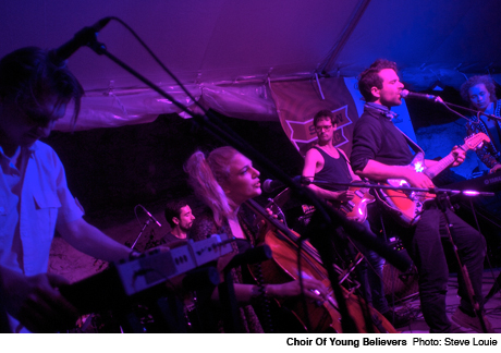 Choir of Young Believers Club DeVille, Austin TX March 14