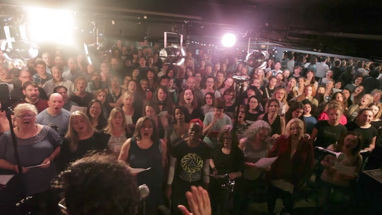 "Choir! Choir! Choir! Pay Tribute to Chris Cornell with 225-Person ""Black Hole Sun"" Cover"