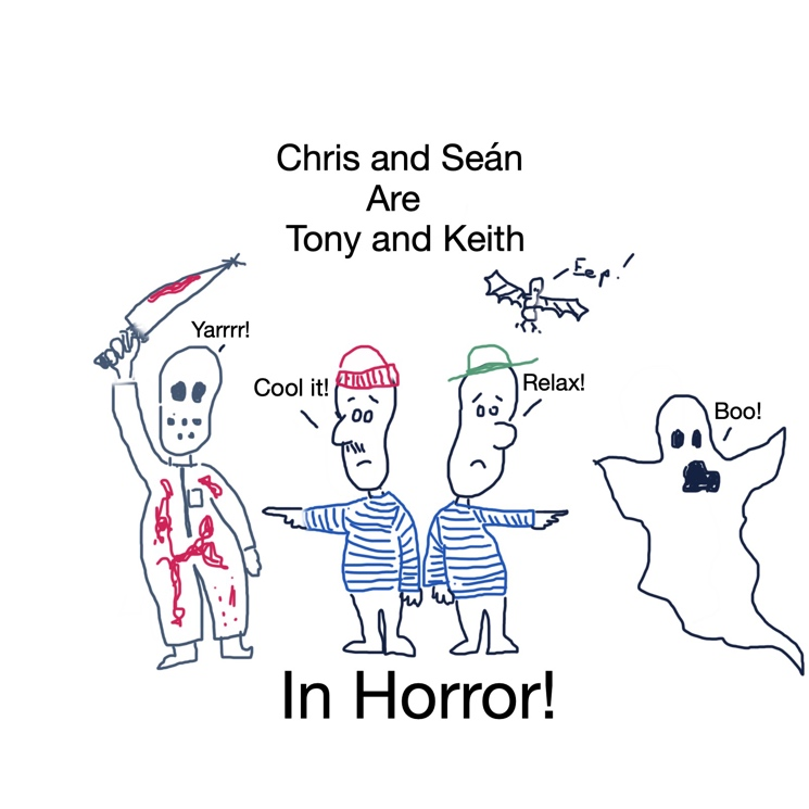 Chris Locke and Seán Cullen Prove Themselves as Two of Comedy's Sharpest Minds with 'In Horror!'