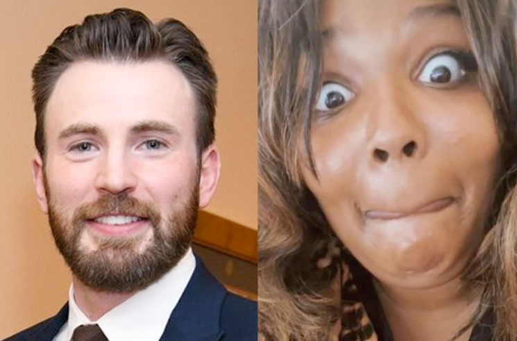 Chris Evans Responds to Lizzo's Drunk DM Slide